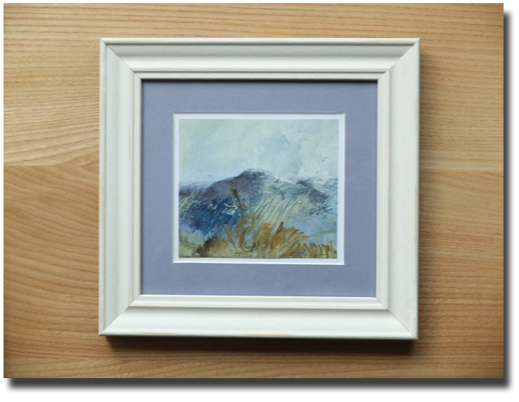 Example of small frame for sketch in oils