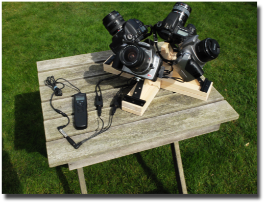 multiple camera mount