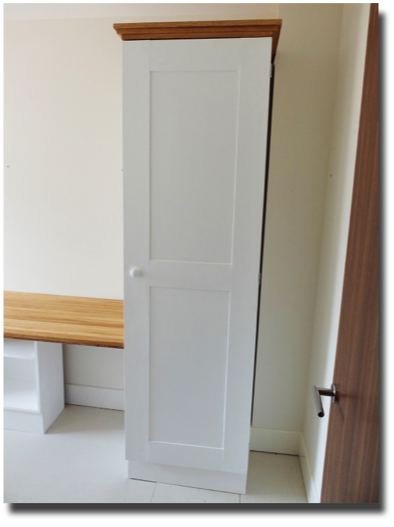 tall storage cupboard